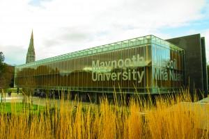 Library sign Maynooth University bilingual-p19nhfttn81h9g38reepuq6sjb
